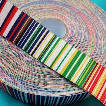 Resår multifärgad rand