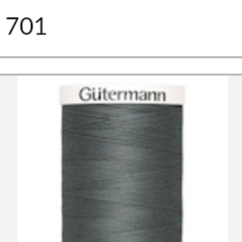 Gutermanns Alla Tygers Tråd 701