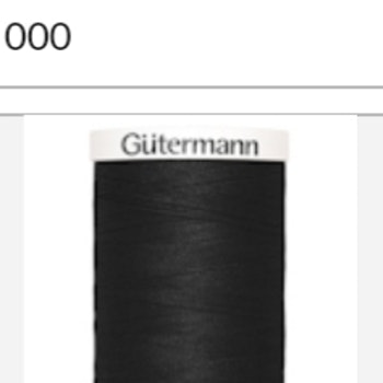 Gutermanns  Alla Tygers Tråd 500m 000