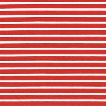 Rödvit rand smal