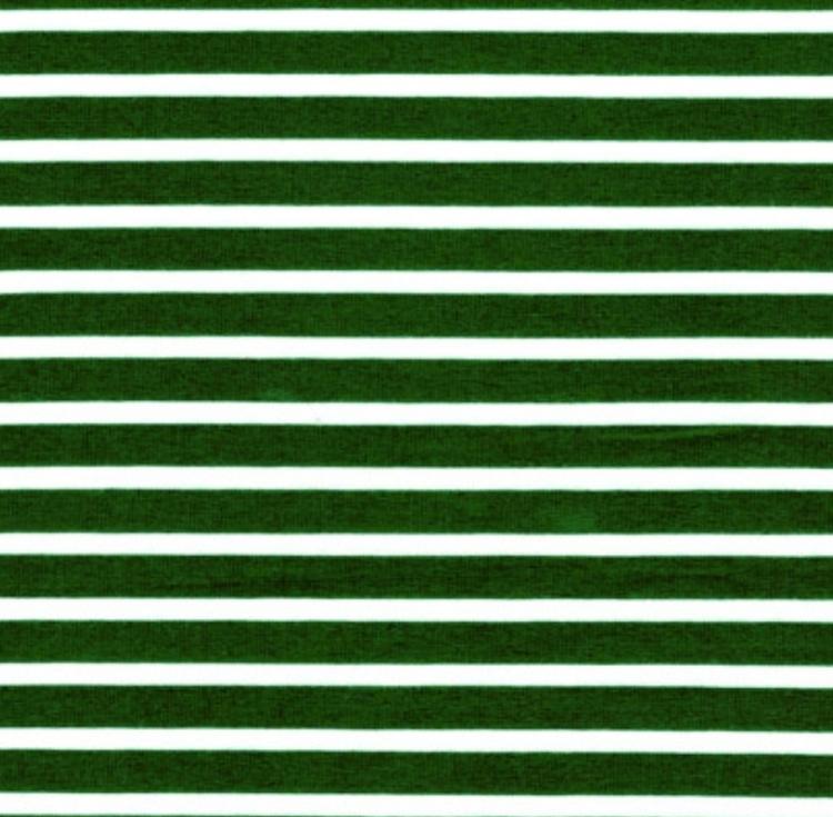 Grönvit rand smal