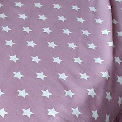Aubergine med stjärnor