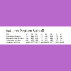 Autumn peplum spinoff