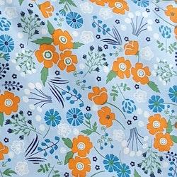 Orangeblå blommor