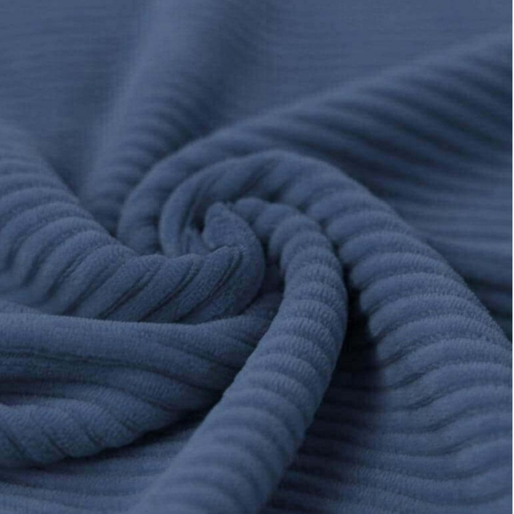Manchestervelour mörk jeansblå