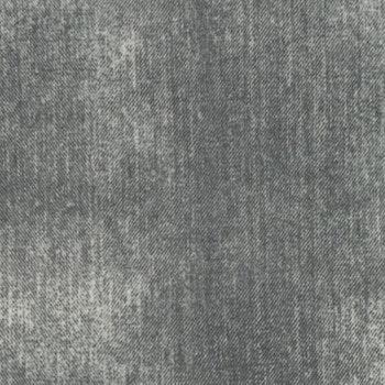 Tryckt jeansmönster grå