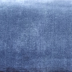Tryckt jeansmönster mellanblå