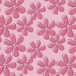 Mörkrosa blommor