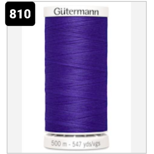 Gutermanns Alla Tygers Tråd 500 m 810