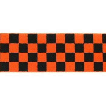 Schackruta orange 40 mm