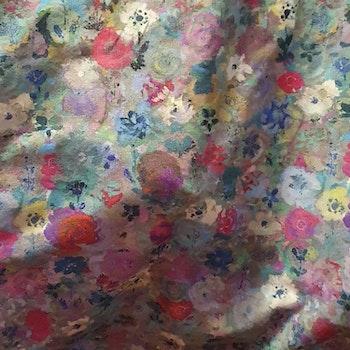 Blåcerise blommor
