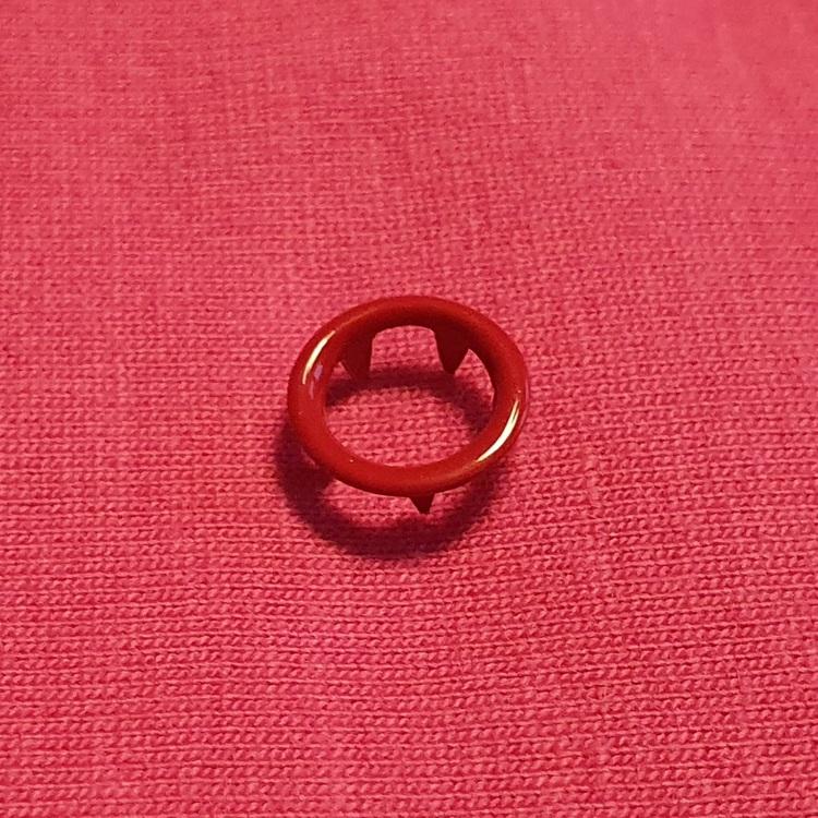 Tryckknappar cirkel röd