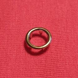Tryckknappar cirkel silver