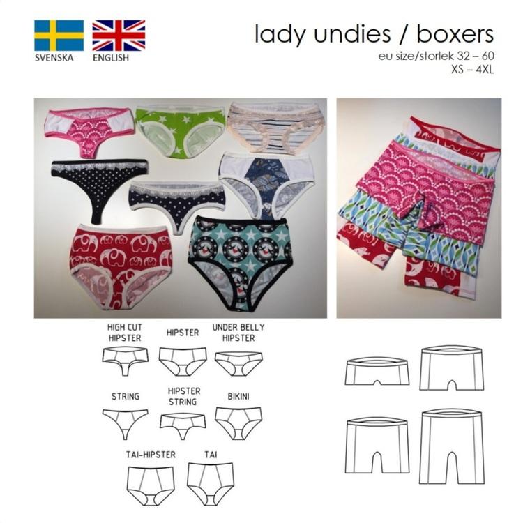 Lady undies/boxers