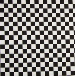 Schackruta svartvit
