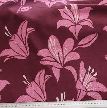 Shine Lily ALBSTOFFE rosa/vinröd