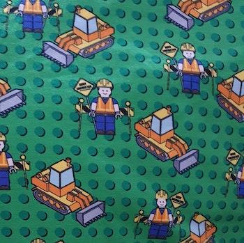 Legogubbar grön