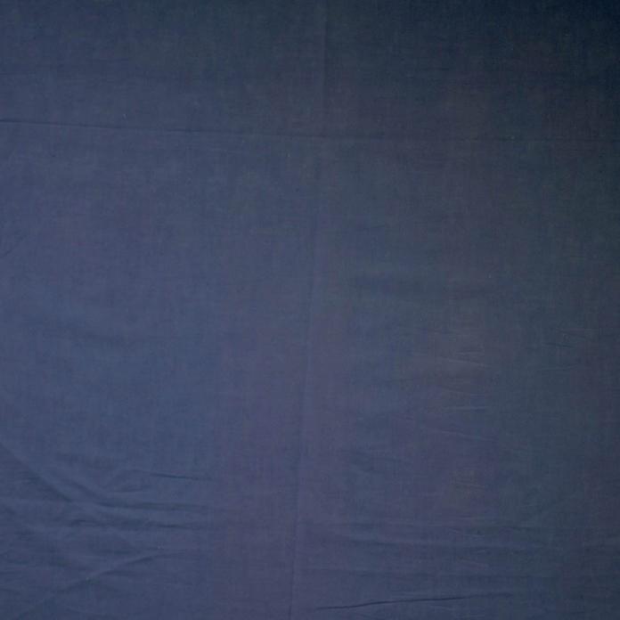 Bomullsbatist koboltblå