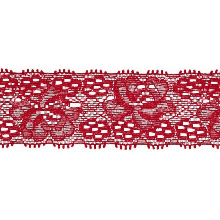 Spets 3 cm röd