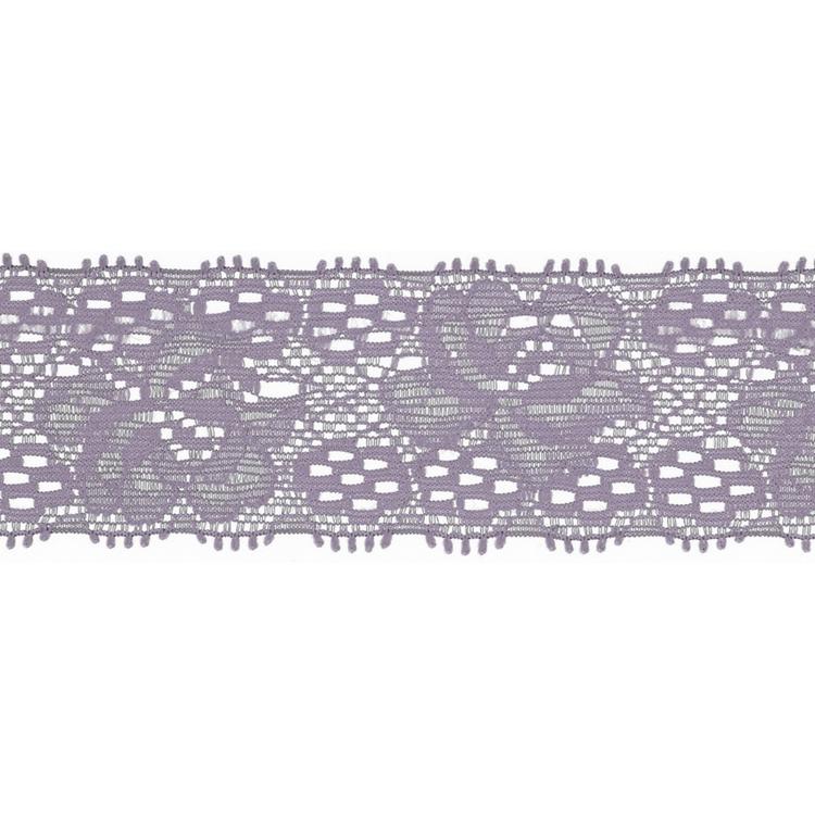 Spets 3 cm lila