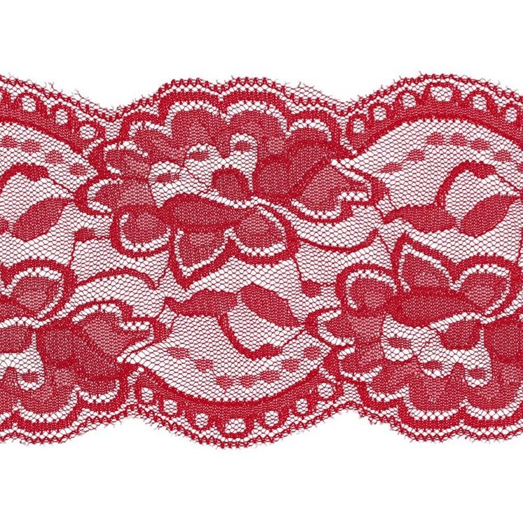 Spets 10 cm röd 515