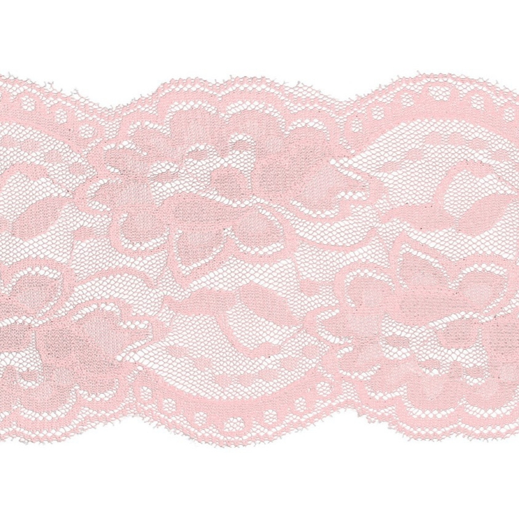 Spets 10 cm rosa 511