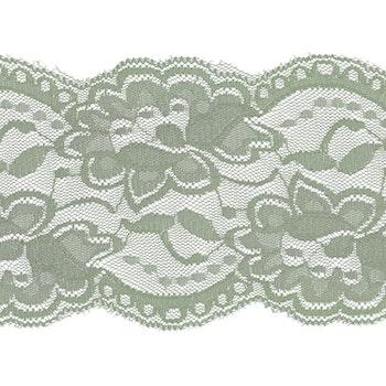 Spets 10 cm  gammalgrön