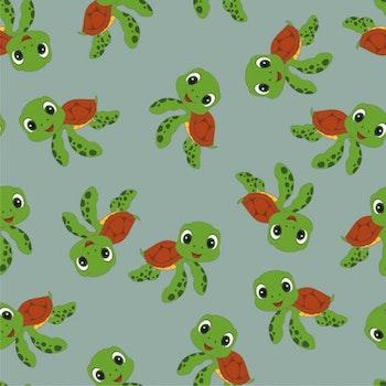 Lekfull sköldpadda
