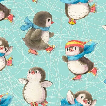 Pingviner på is