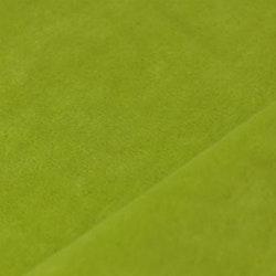 Velour äppelgrön