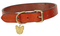 Digby & Fox Flat Leather Dog Collar