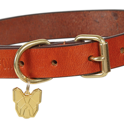 Digby & Fox Flat Leather Dog Collar