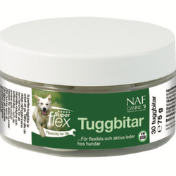 Canine Superflex Tuggbitar 30st - Leder