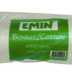Bomull rullad 1kg från Emin