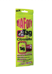 NAF Off Citronella Tags 2-pack