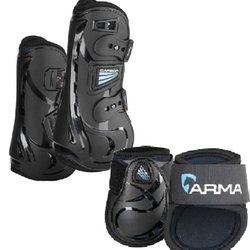 Carbon Tendon Boot Set