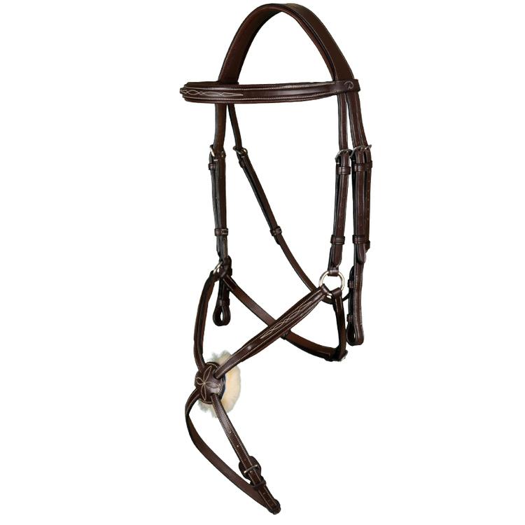 Träns med mexikansk nosgrimma - Hunter Collection från Dyón