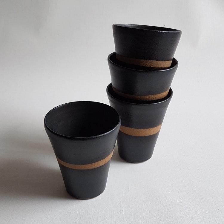 Kaffemugg i Serien Savann