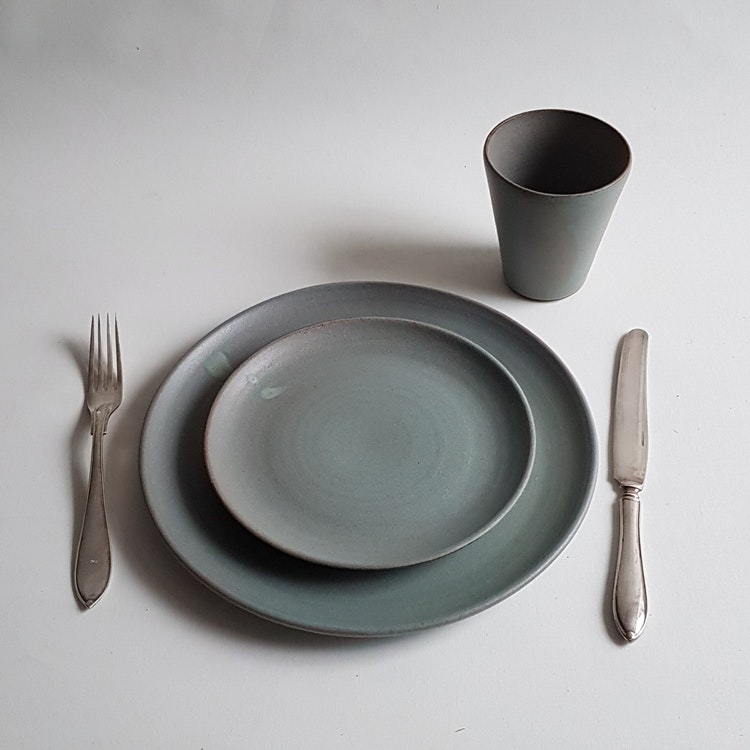 Mattallrik i Serien Råsiden / Grågrön
