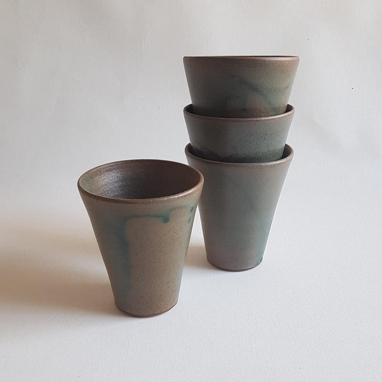 Kaffemugg i Serien Bosco / Grön