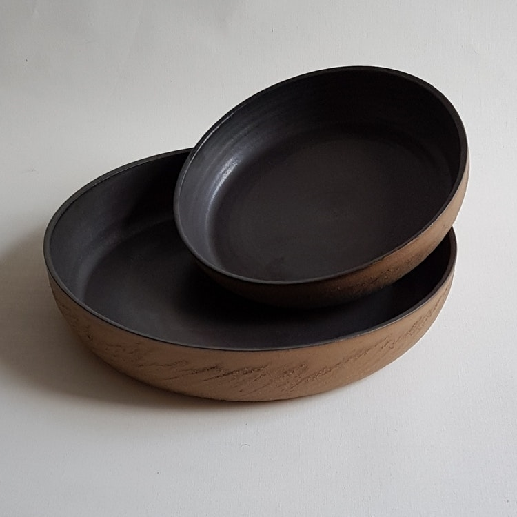 Liten Pajform i Serien Rustik & Svart / ca 21 cm i diameter