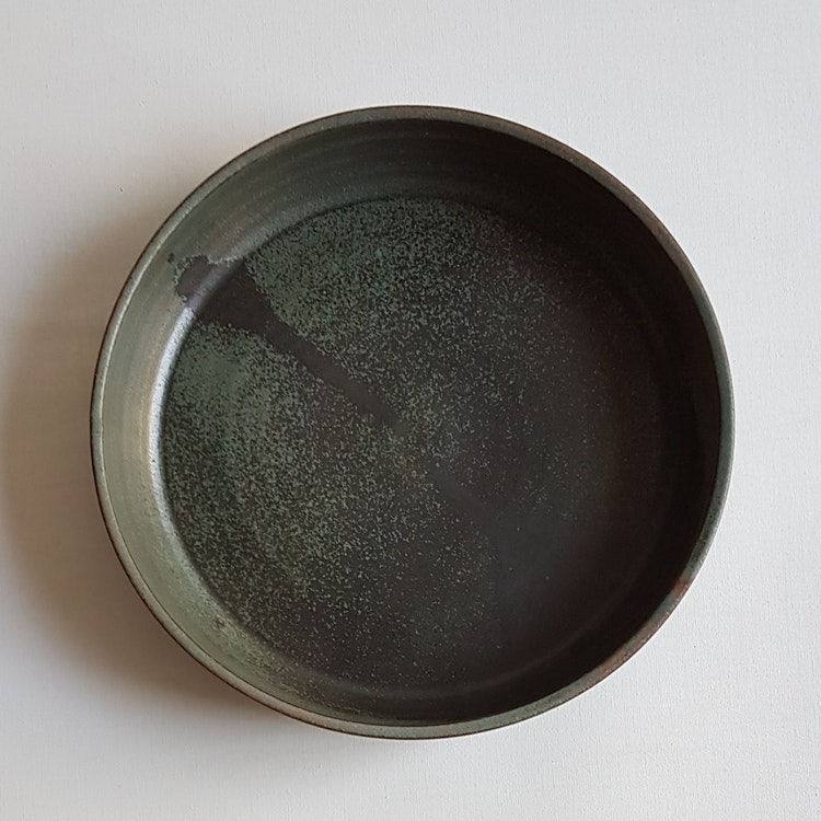 Liten Pajform i Serien Bosco / Grön / ca 21 cm i diameter