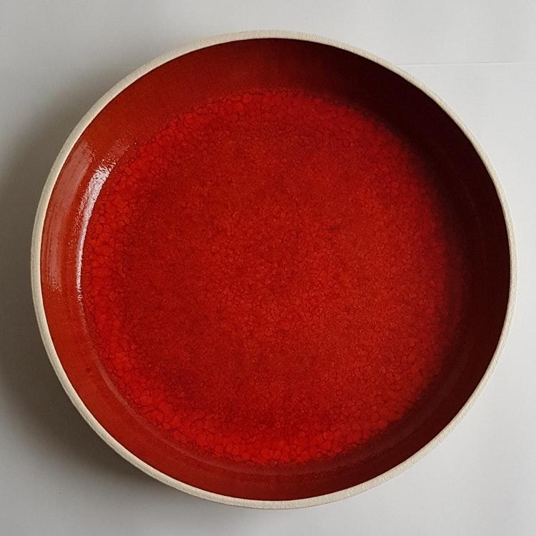 Uppläggningsfat i Serien Lava / ca 30 cm i diameter