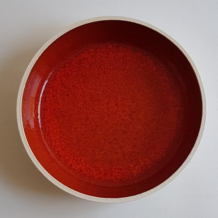 Uppläggningsfat i Serien Lava / ca 21 cm i diameter