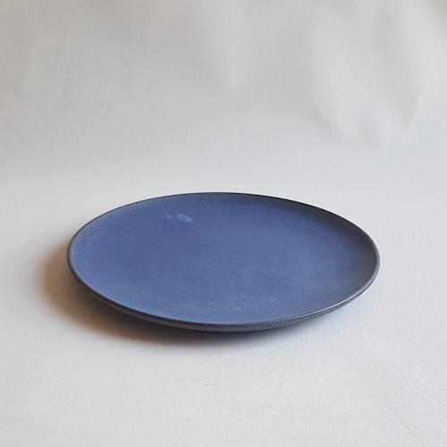 Assiett i Serien Blå