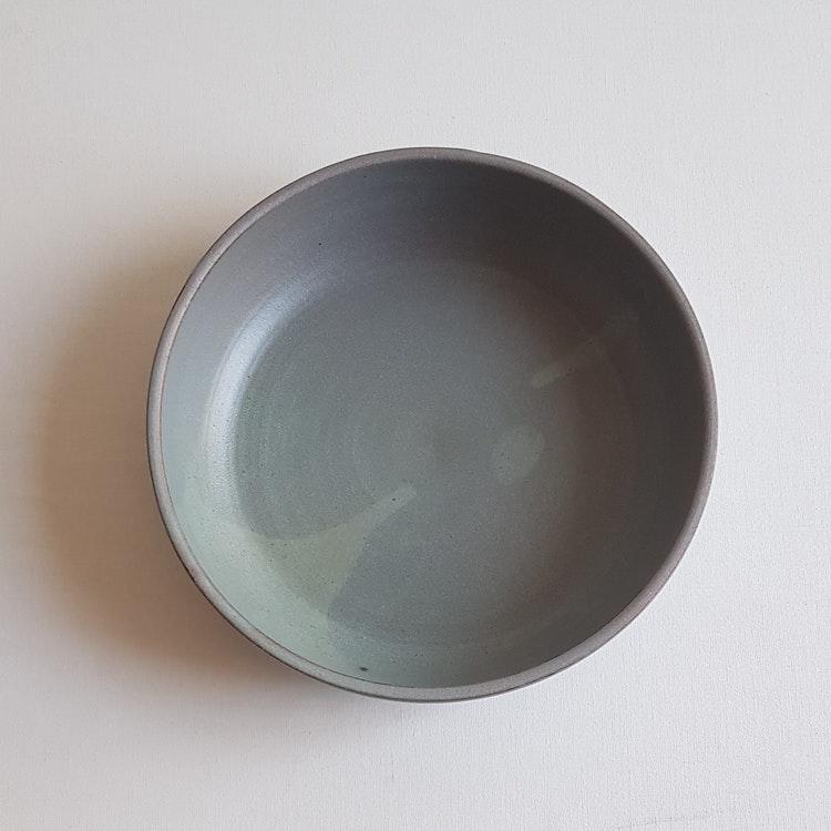 Liten Pajform i Serien Råsiden / Grågrön / ca 21 cm i diameter