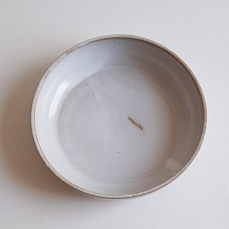 Liten Pajform i Serien Crème / Gräddvit / ca 21 cm i diameter