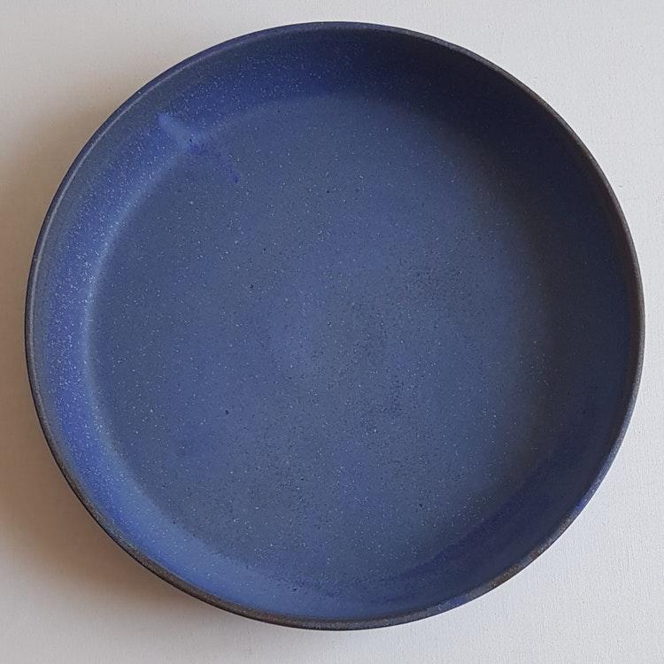 Pajform i Serien Mareld / Blå, ca 30 cm i diameter
