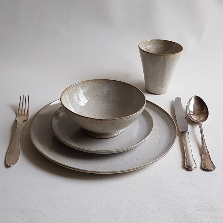 Soppskål i Serien Crème / Gräddvit