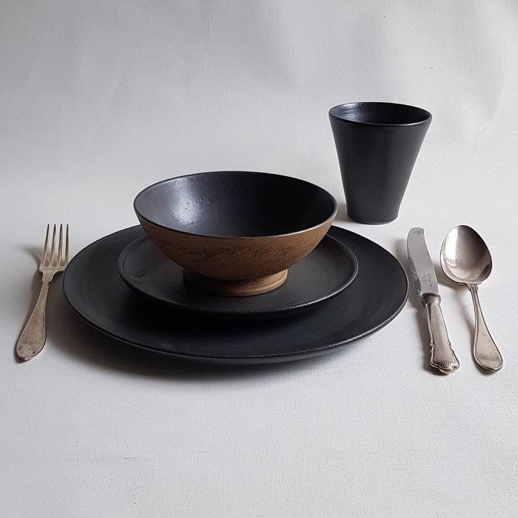 Soppskål i Serien Rustik & Svart